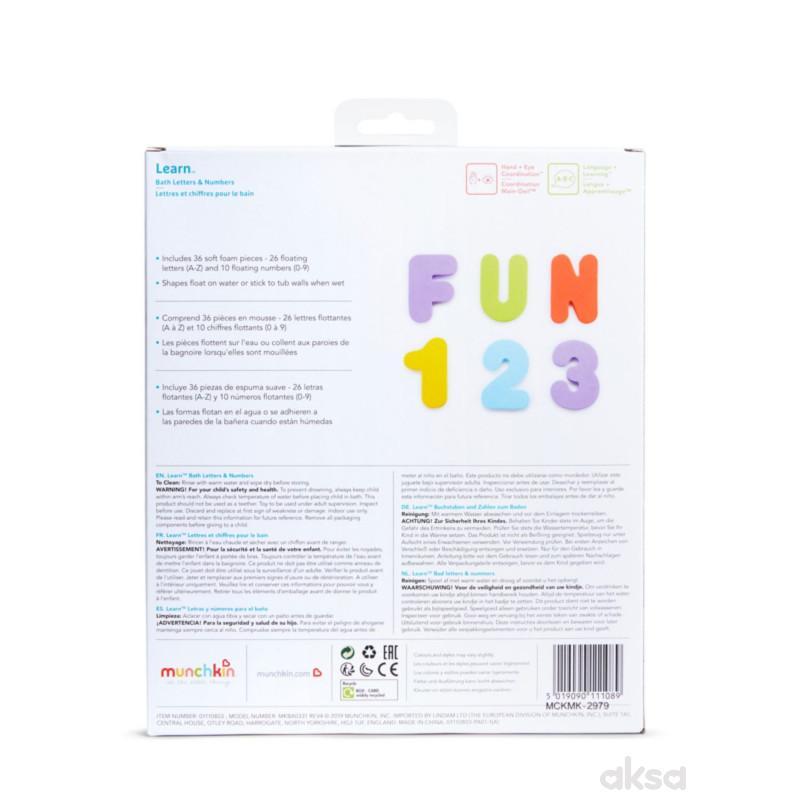 Munchkin igračka slova i brojevi