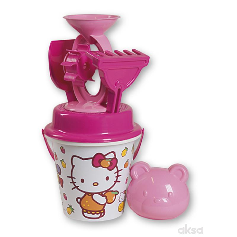 Androni Giocattoli kofica za pesak set Hello Kitty