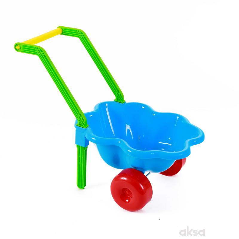 Dohany toys igračka kolica za plažu Školjka