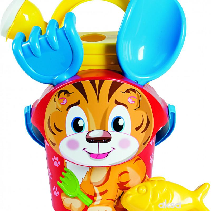 Androni Giocattoli kofica za pesak baby tigar