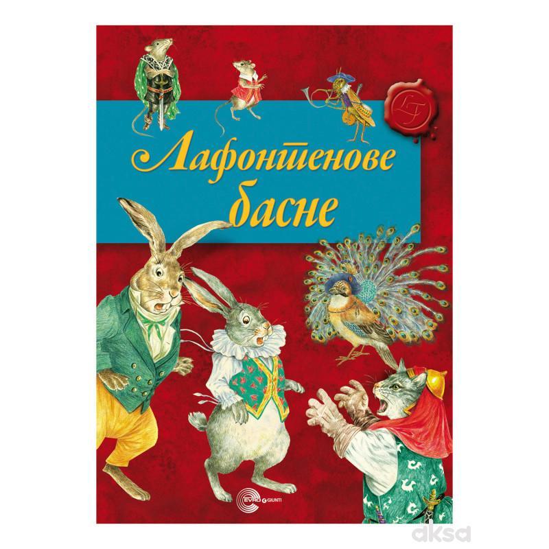 Evro book, Lafontenove Basne