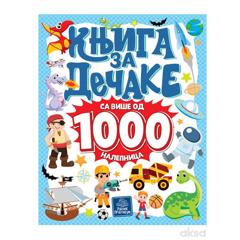 Publik, Knjiga Za Dečake Sa Više Od 1000 Nalepnica