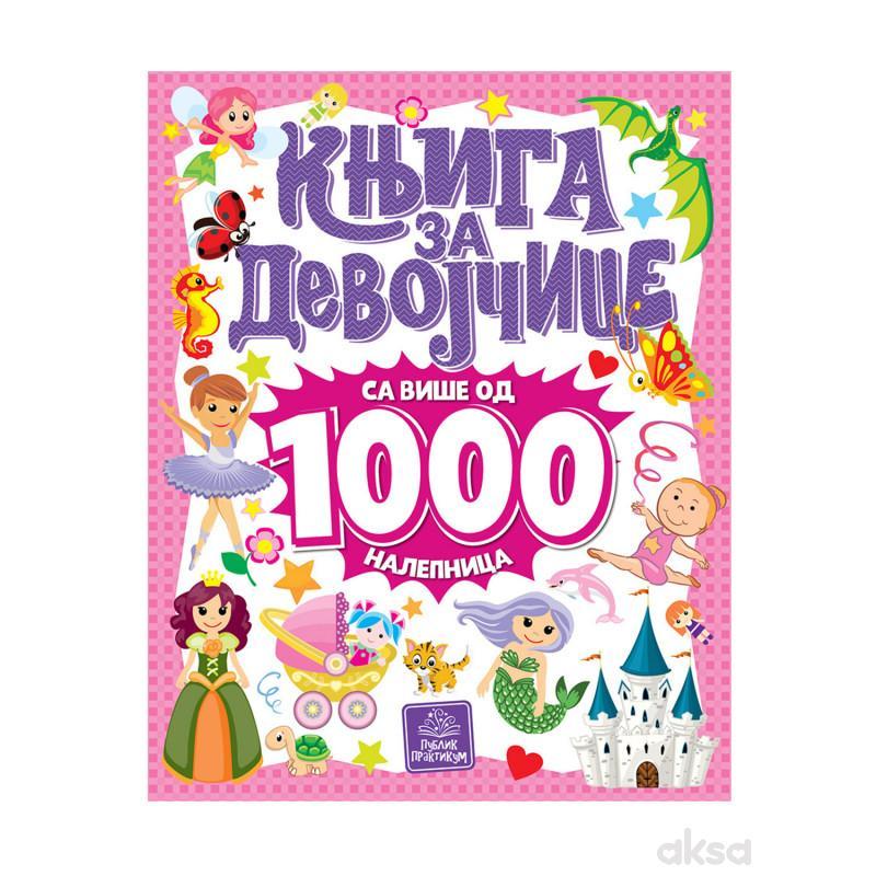 Publik,Knjiga Za Devojčice Sa Više Od 1000nalepnic