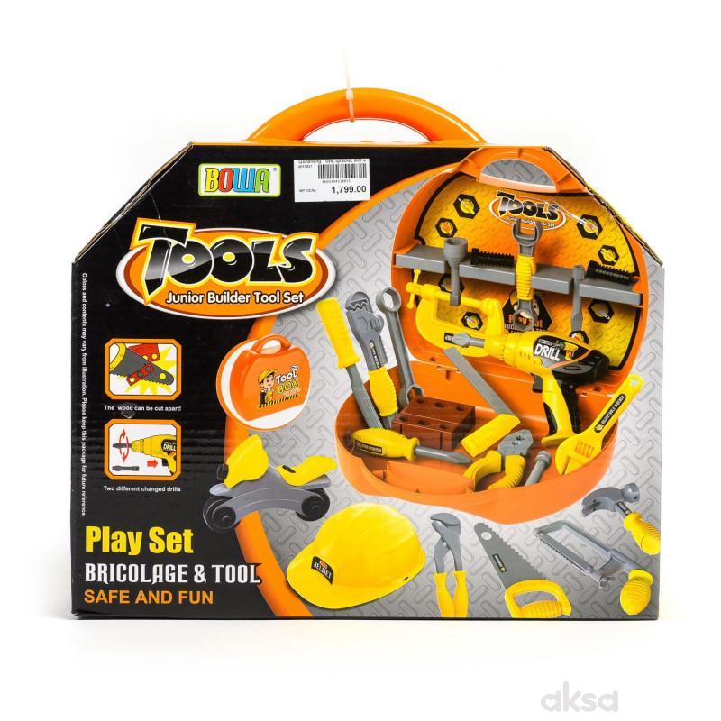 Qunsheng Toys, igračka, alat u koferu