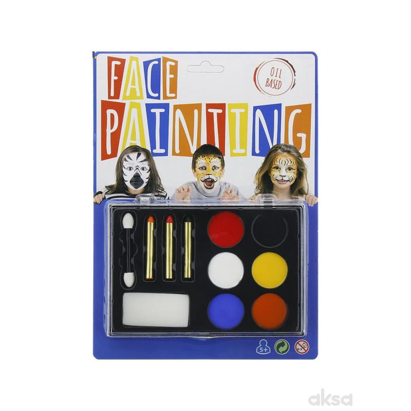 Plasticni set bojenje lica