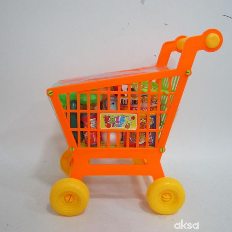 Hk Mini igračka voće i povrće u kolicima