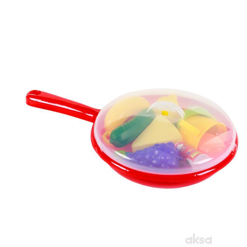 HKM igračka kuhinjski set - tiganj