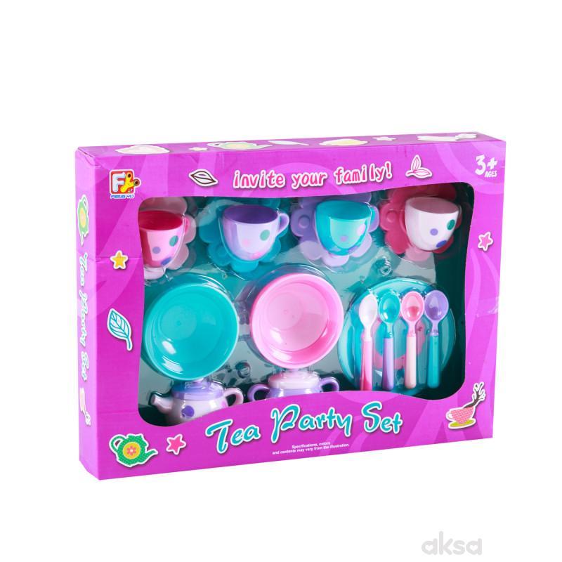 Hk Mini igračka set za čaj 17 delova