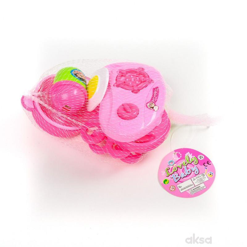 Hk Mini igračka sudići u mrežici