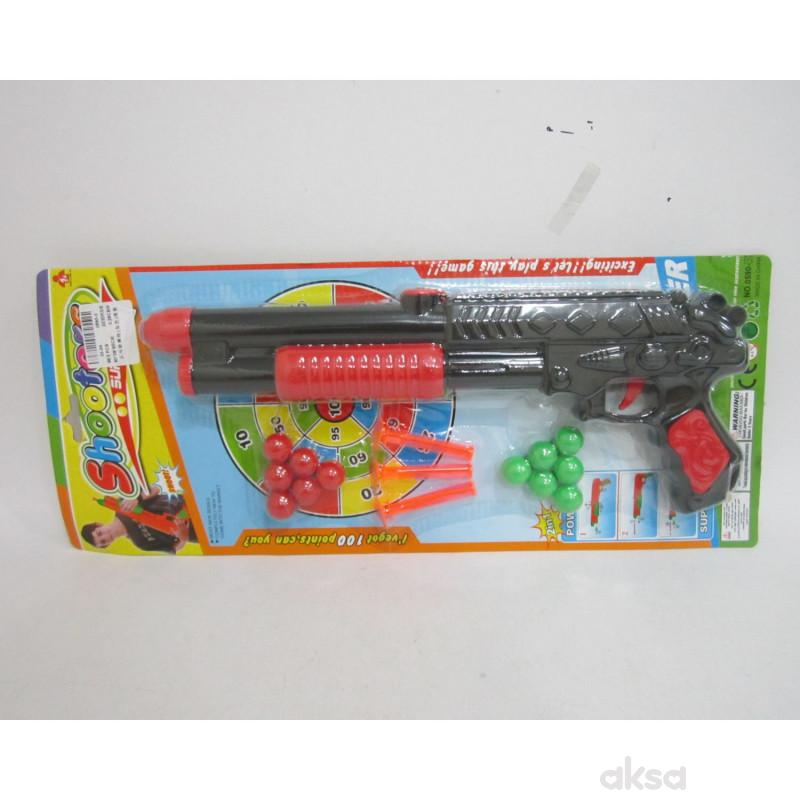 Hk Mini igračka ping pong puška