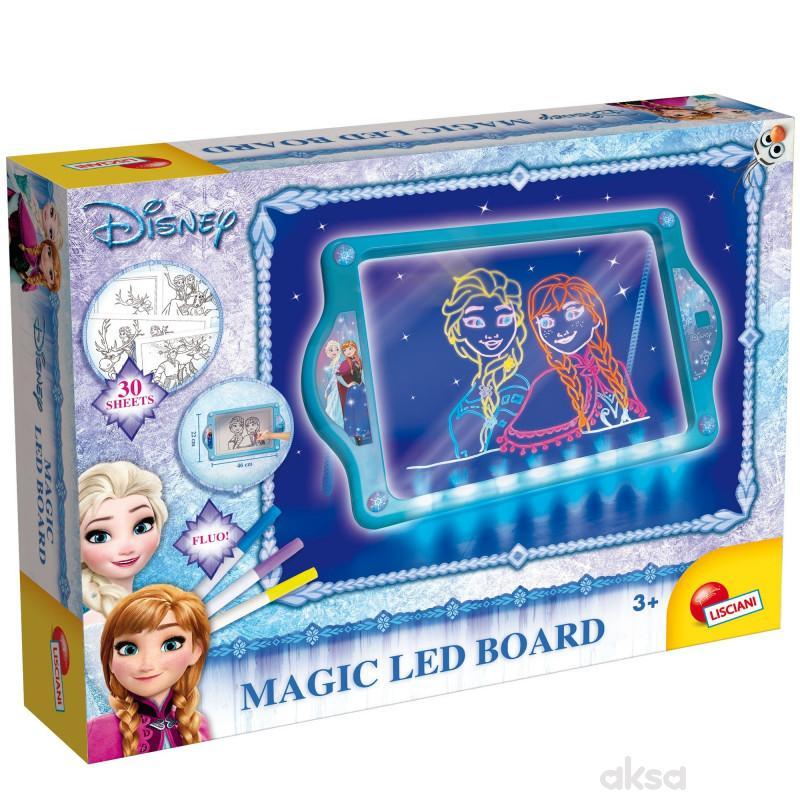Frozen Magicna Led tabla pisi-brisi Lisciani