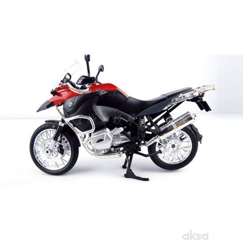 Rastar igračka motocikl BMW 1:9 - crv, siv