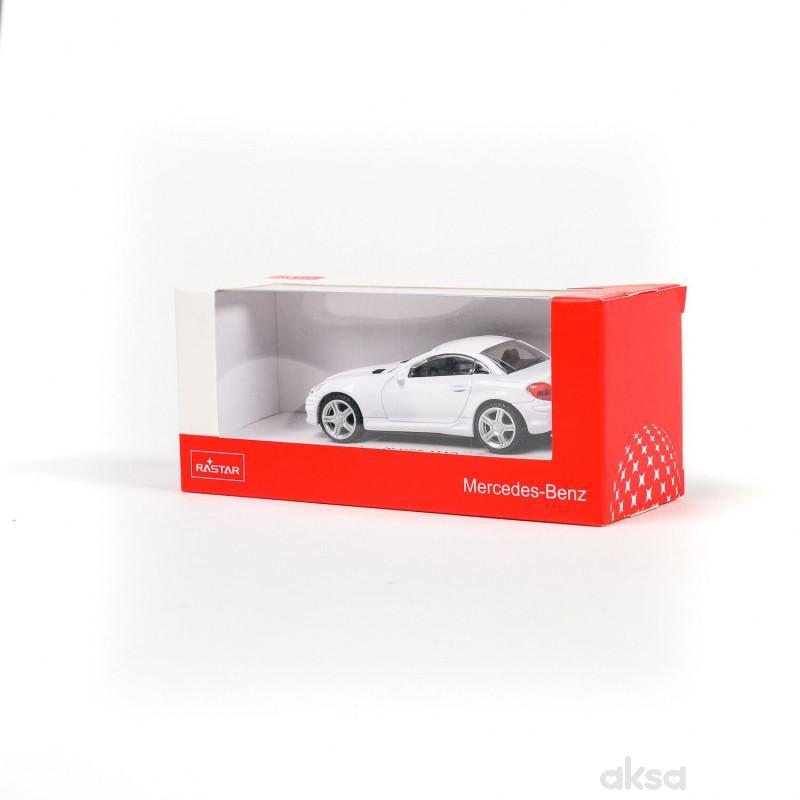 Rastar automobil Mercedes SLK 1:43 - bela