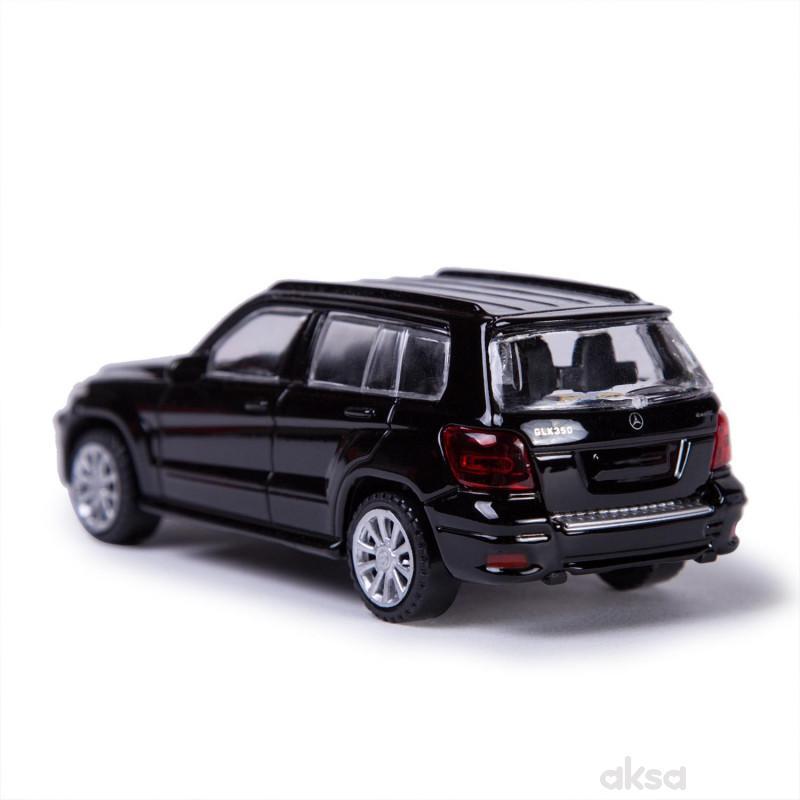 Rastar igračka automobil Mercedes GLK 1:43 - crn