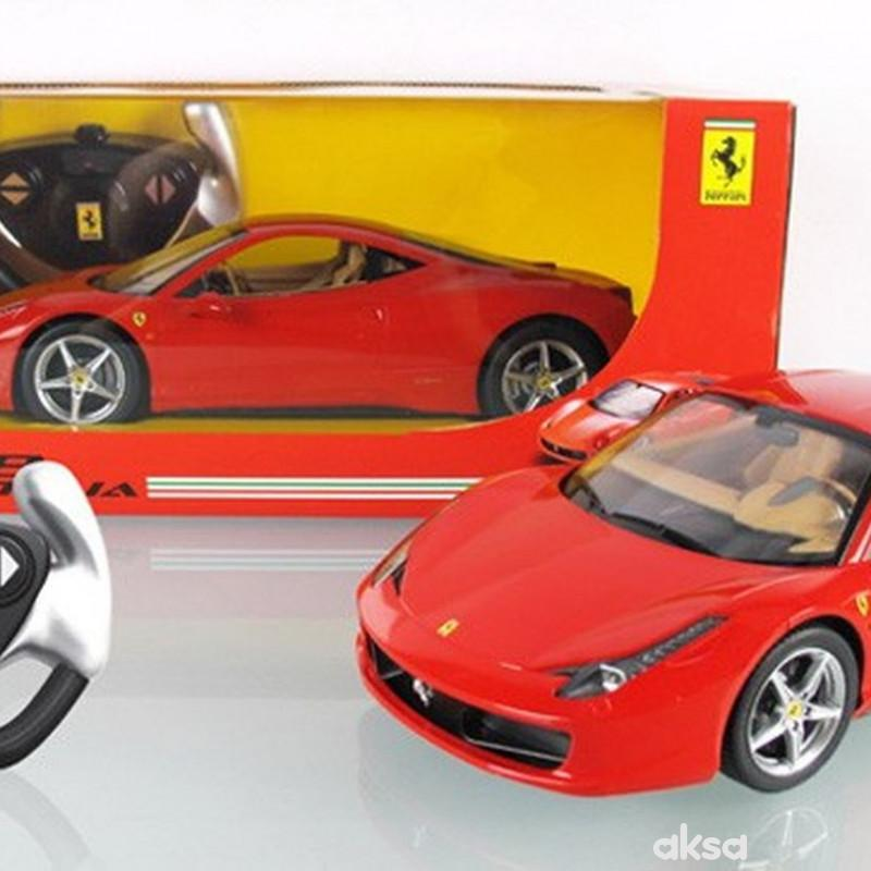 Rastar RC auto Ferrari 458 Italia 1:14-crv,žut