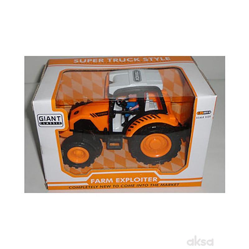 Hk Mini igračka traktor u kutiji