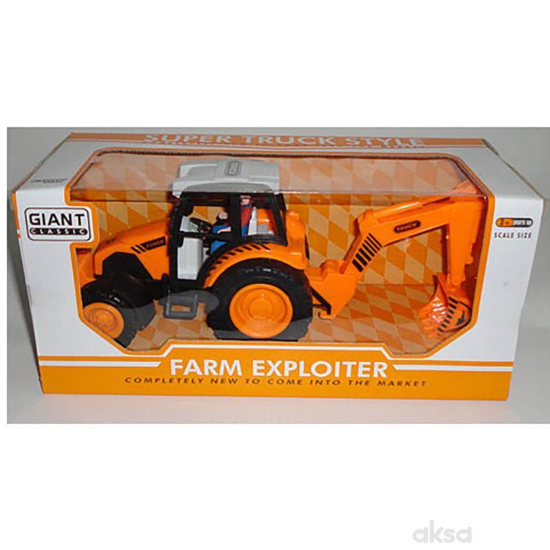 Hk Mini igračka traktor bager
