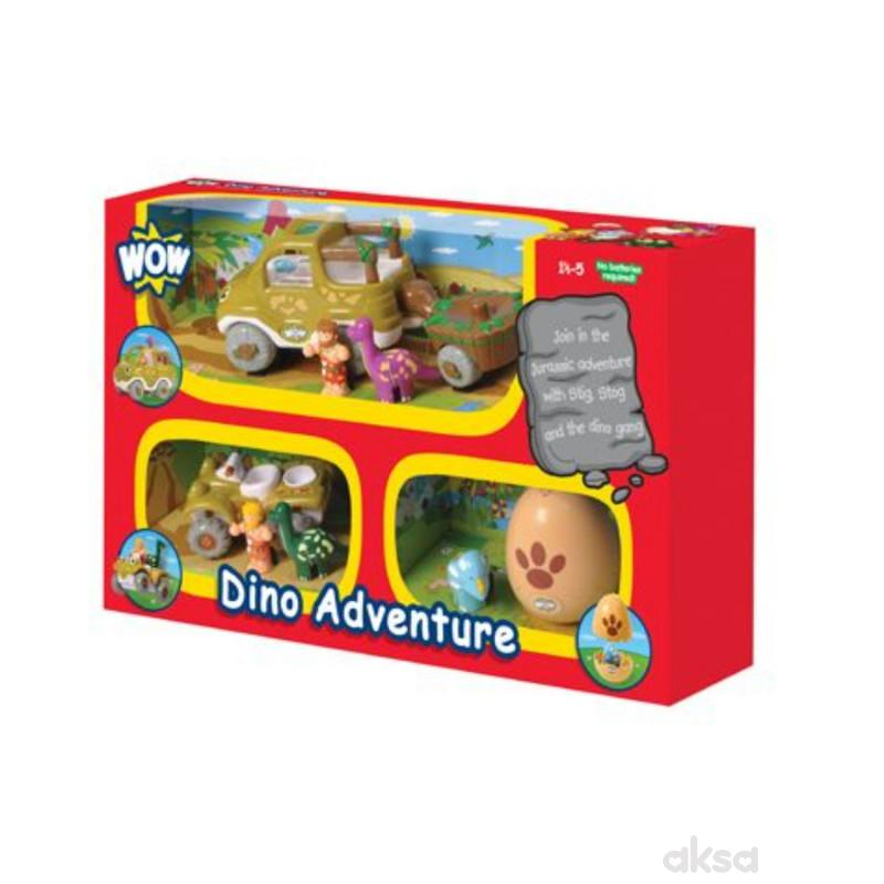 Wow igračka set 3 u 1 Dino Adventure