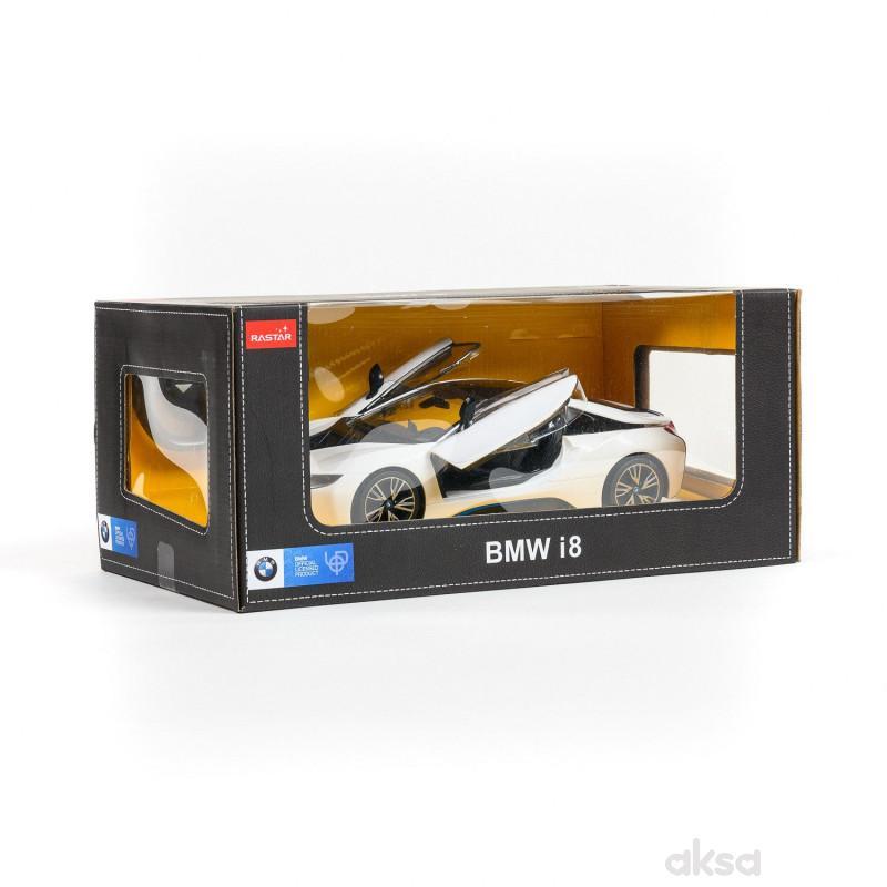 Rastar RC BMW i8 1:14 - bel, crn