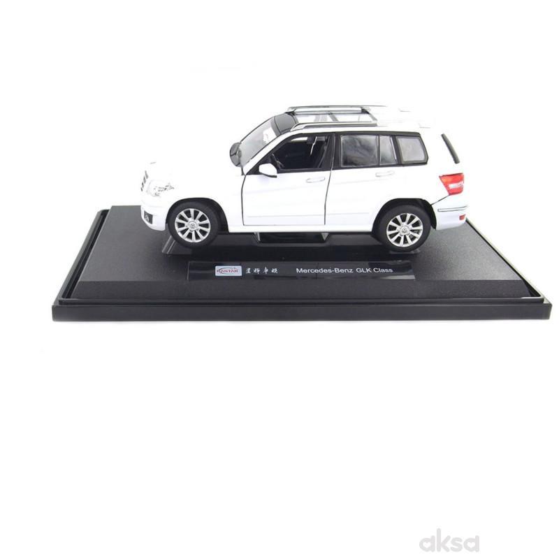 Rastar Mercedes GLK-CLASS 1:24 - crn, bel