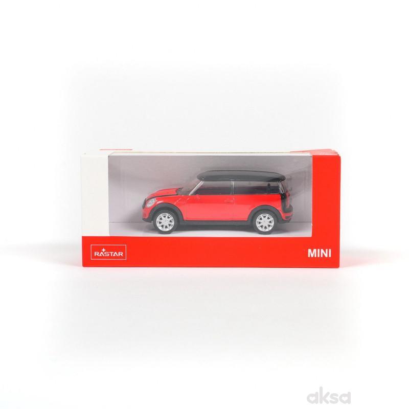 Rastar automobil MINI CLUBMAN 1:43 - crv