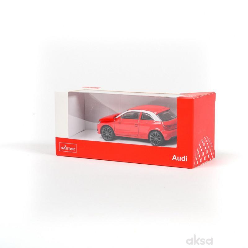 Rastar automobil Audi A1 1:43 - crv