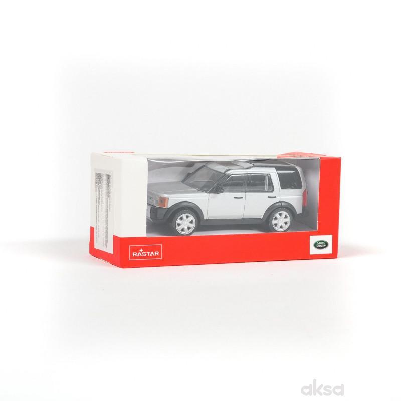 Rastar automobil Land Rover 1:43 - siv