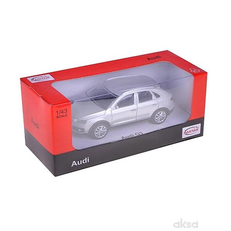 Rastar automobil Audi Q3 1:43 (58300) - ner