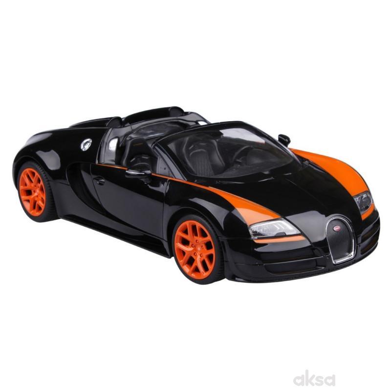 Rastar RC automobil Bugatti Veyron 1:14 - crn, nar