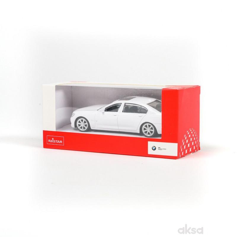 Rastar automobil BMW 7 series 1:43 - bel