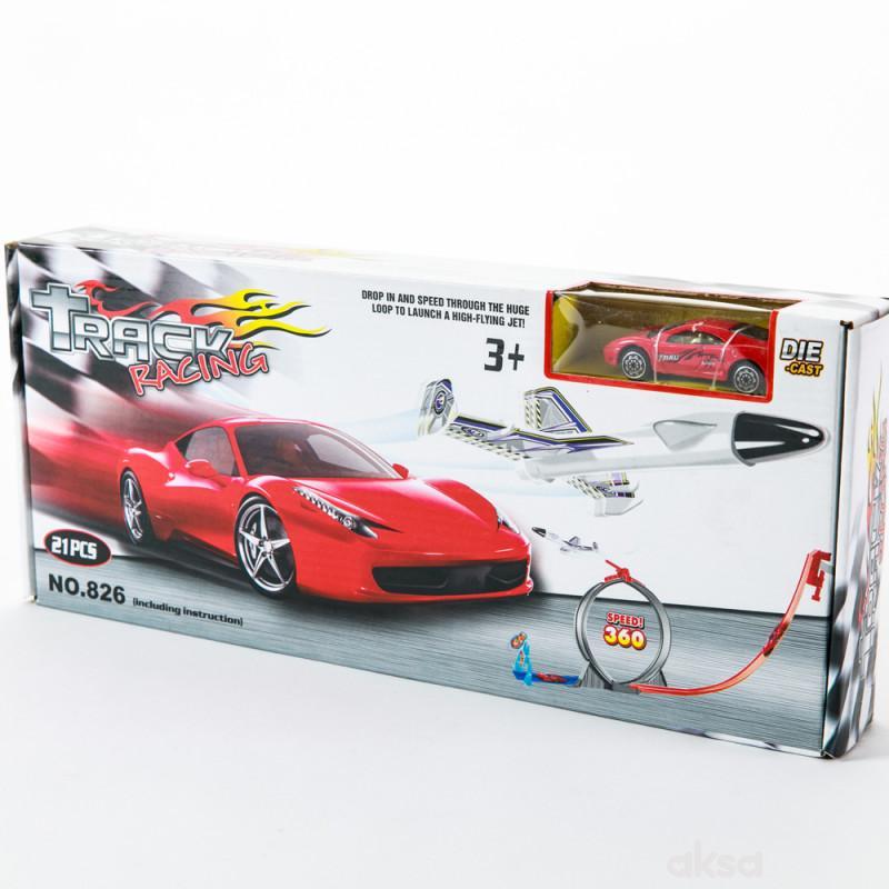 Hk Mini igračka auto staza sa autićem