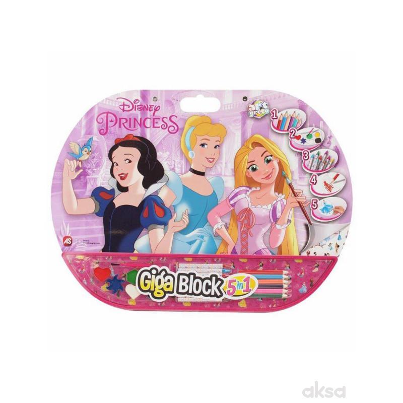 Giga Block 5 In 1 Princess