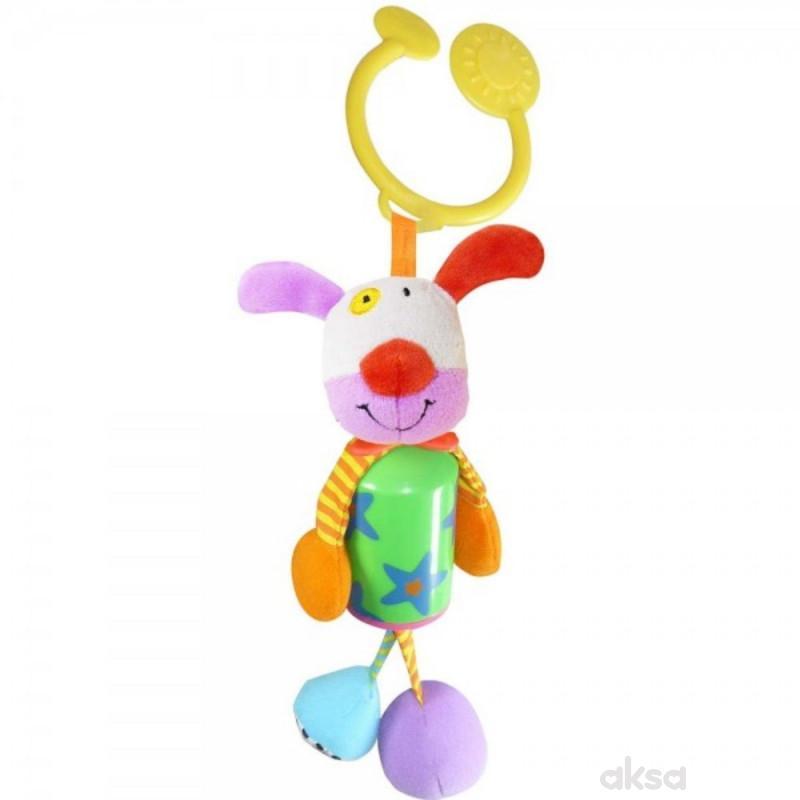 Biba Toys viseća igračka pas, slonče, lav