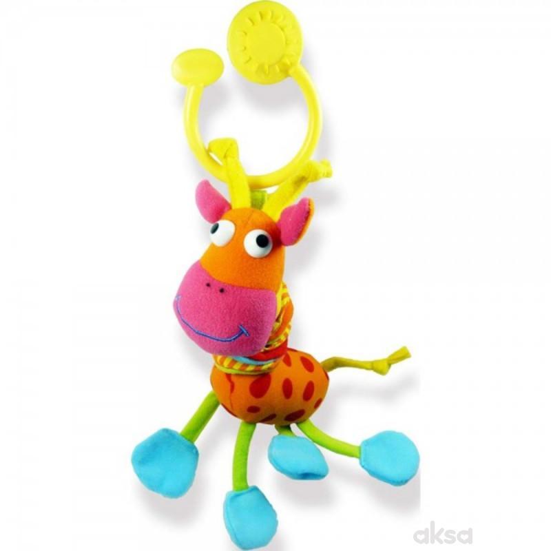 Biba Toys viseća igračka vesela žirafa