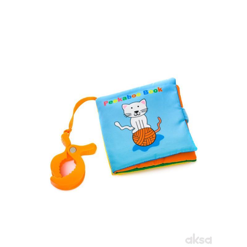 Biba Toys igračka viseća mekana knjiga