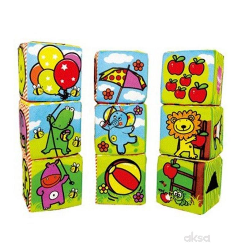 Biba Toys plišane kocke