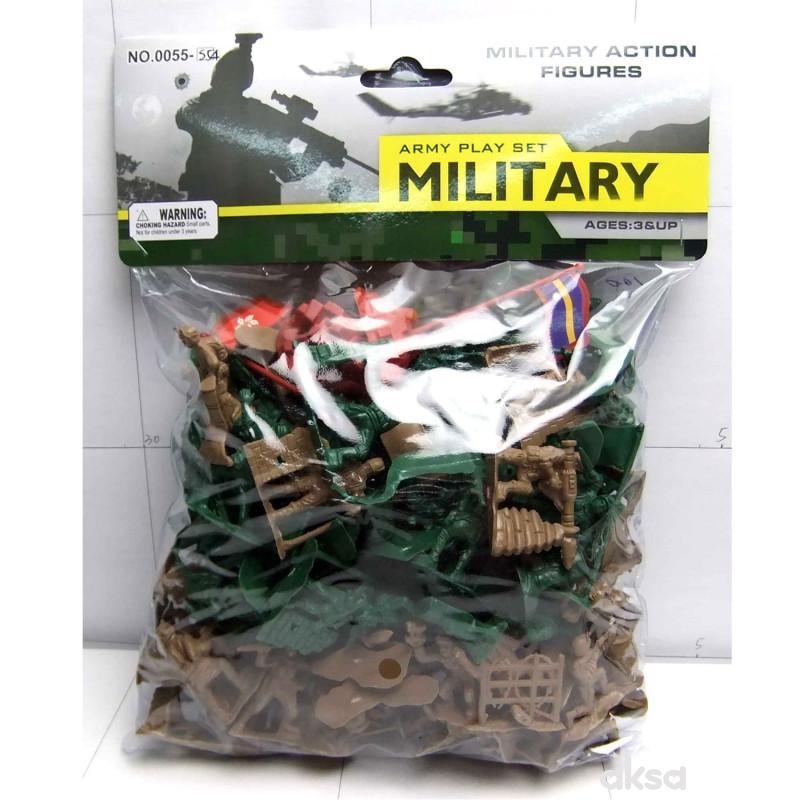 Hk Mini igračka vojnici u kesi, veći