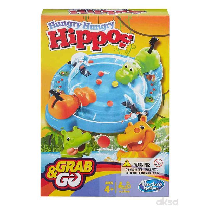 Gladni hippo društvena igra travel