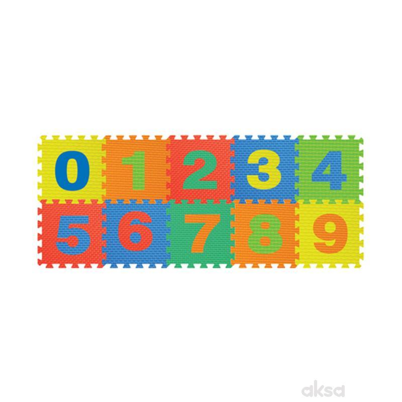 Podne puzzle brojevi 0-9
