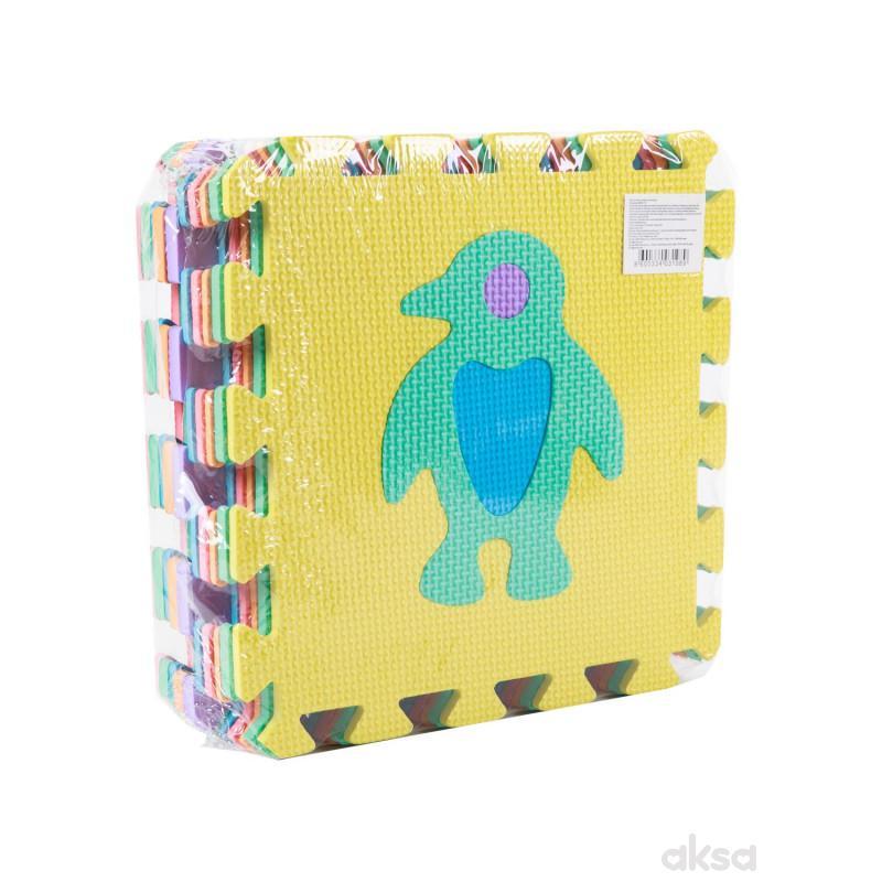 Hk Mini podne puzzle životinje 10kom