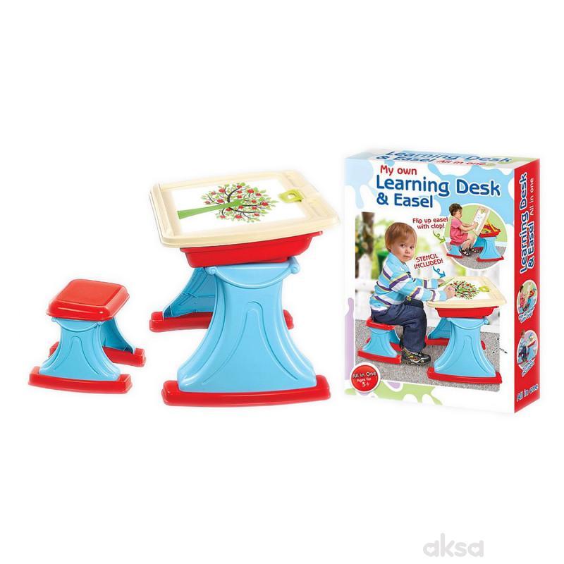 Qunsheng Toys, igračka sto za učenje sa stolicom