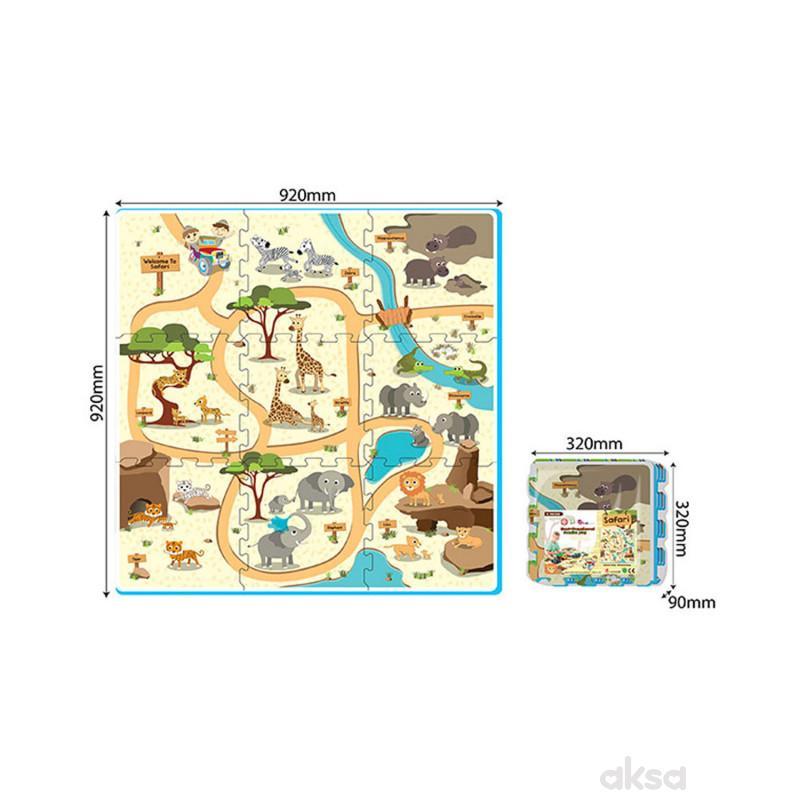 Podne puzzle - Safari