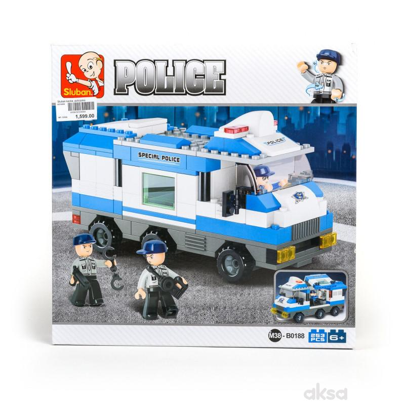 Sluban kocke, policijsko komandno vozilo, 253 kom