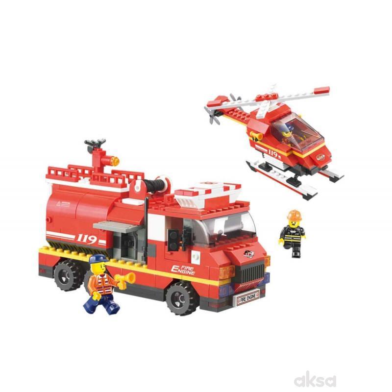 Sluban kocke, vatrogasna prva pomoć, 409 kom