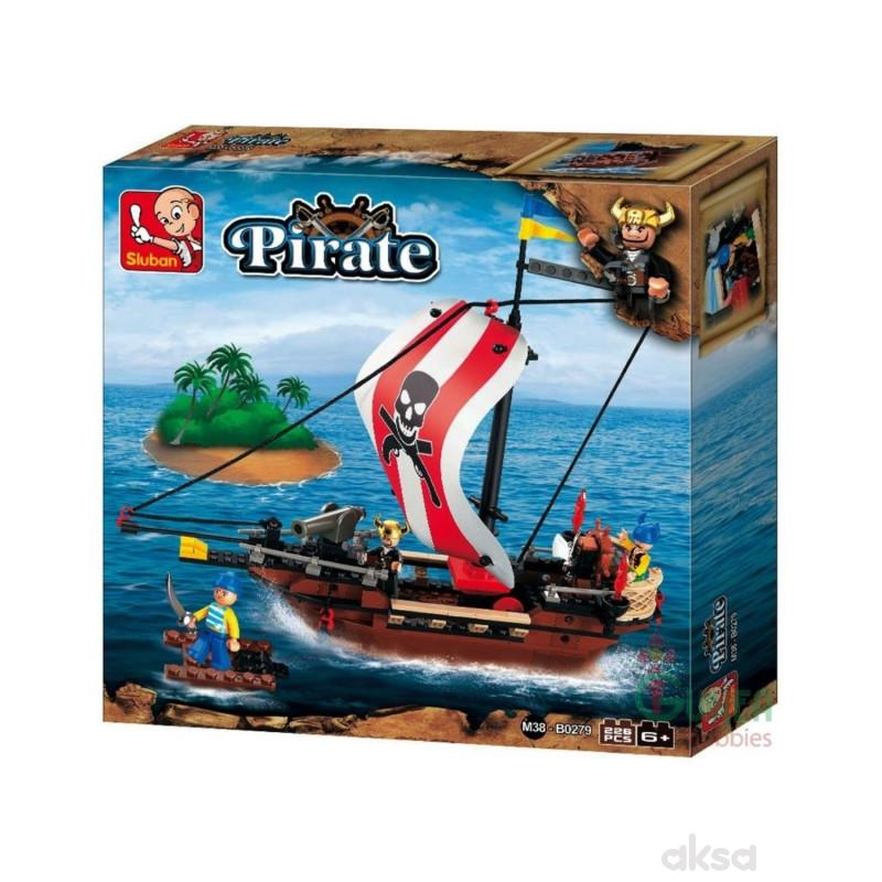 Sluban kocke, piratski ratnički brod, 226 kom