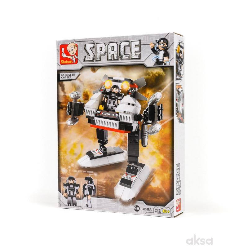 Sluban kocke, X1 robot, 108 kom