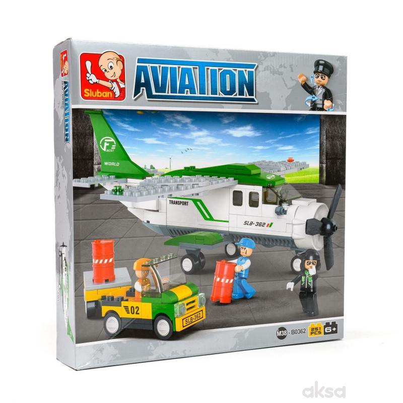 Sluban kocke, transportni avion, 251 kom