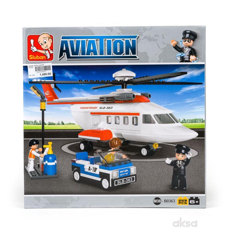 Sluban kocke, putnički helikopter, 259 kom