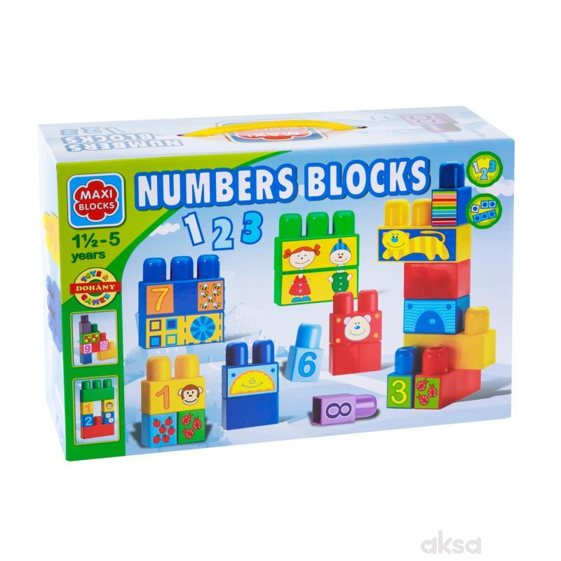 Dohany toys kocke brojevi