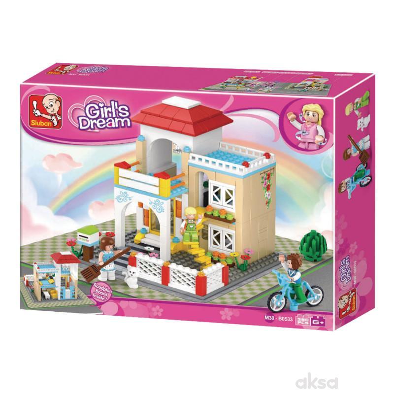 Sluban kocke, slatka kuća, 381 kom